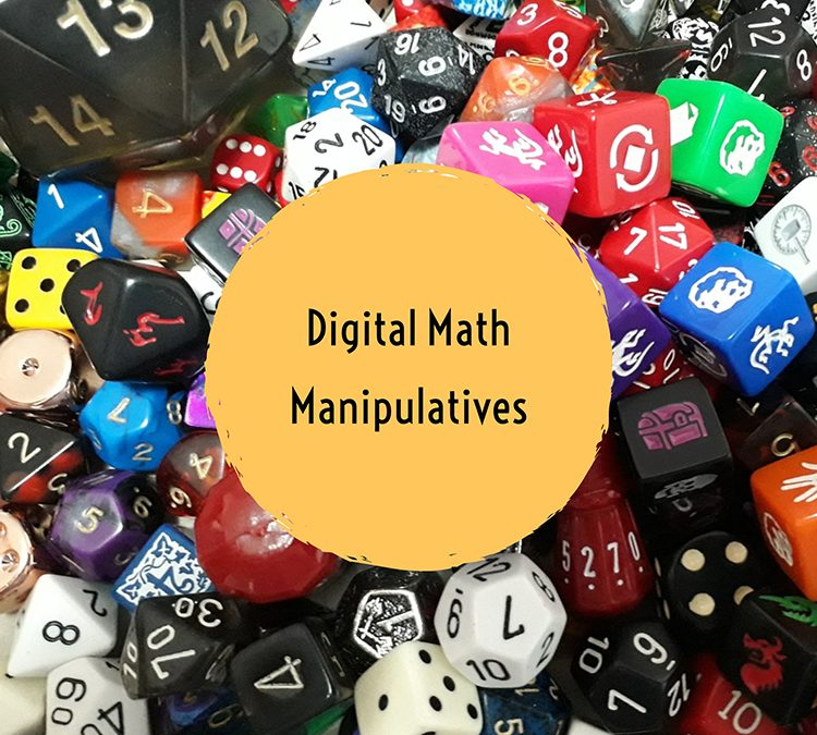 More Free Digital Math Manipulatives