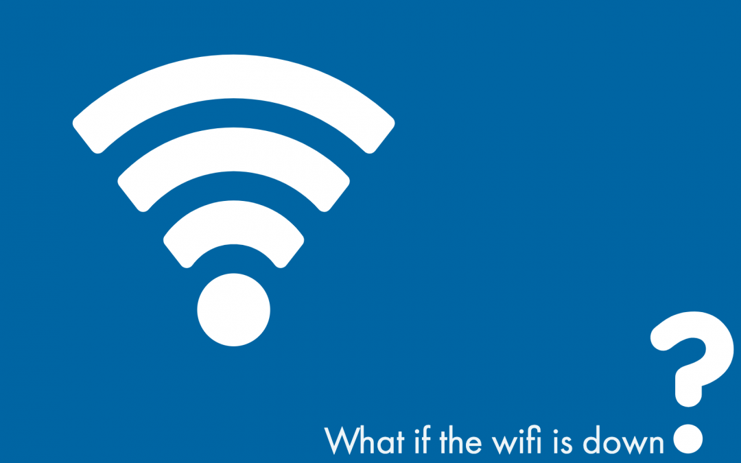 What if there is no Wifi?