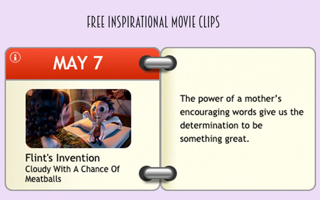 Free inspirational Movie Clips