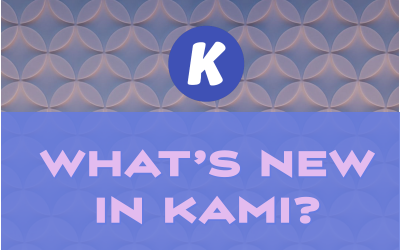 Kami – Some Good Fall 2019 Updates
