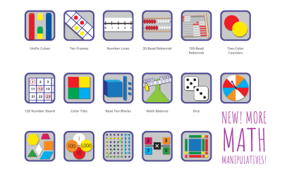 New! More Math Manipulatives!