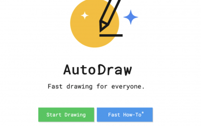 Autodraw – AI enters the drawing space