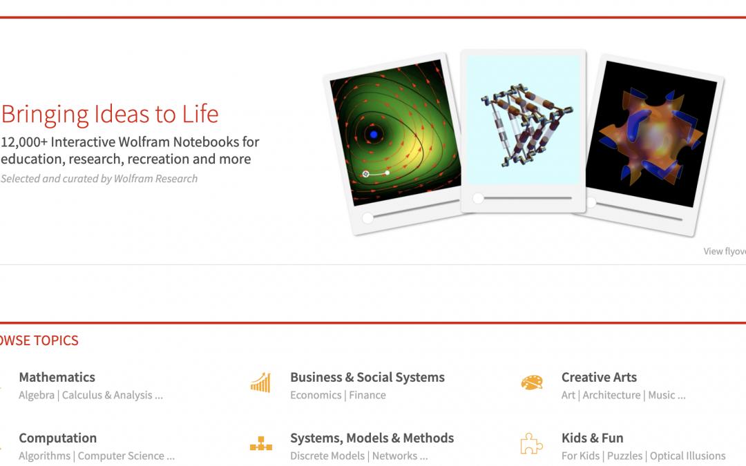 Wolfram Demonstrations
