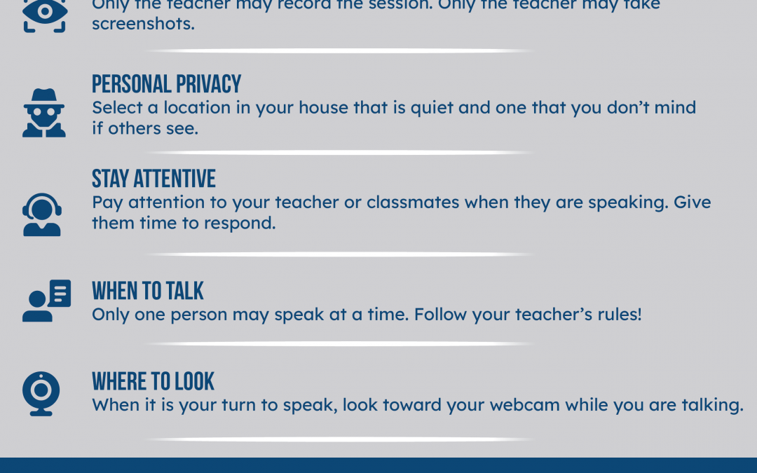 Google Meet Etiquette for Students