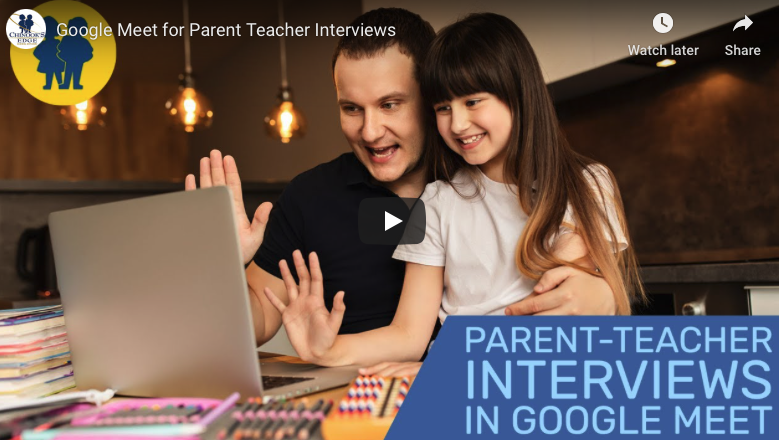 Using Google Meet for Parent-Teacher Interviews