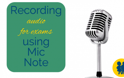 Audio Recording with Mic Note